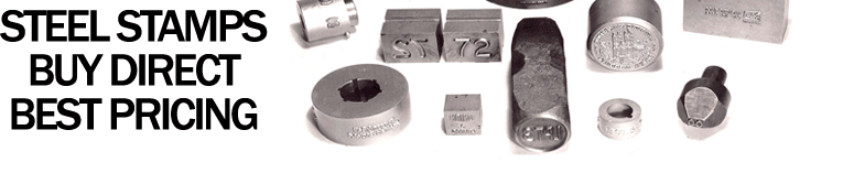 SteeL Stamps Best Pricing